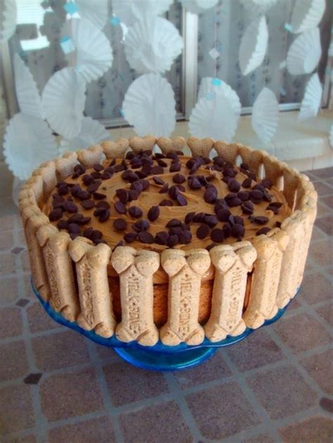 frosting for dogs banana carob oat cake with peanut butter frosting happy birthday to you our