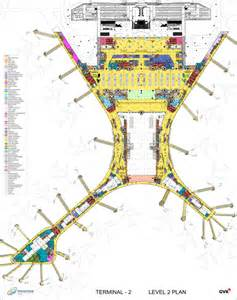 International Airport Floor Plan by Chhatrapati Shivaji International Airport Terminal 2