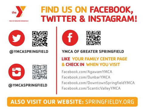 Find In Us Find Us On Instagram Ymca