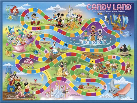 Disney Gift Card For Theme Park - candy land 174 disney theme parks edition disney theme parks exclusive usaopoly