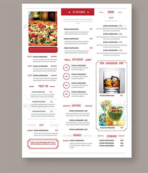 simple html menu template 45 vintage menu designs free psd vector templates
