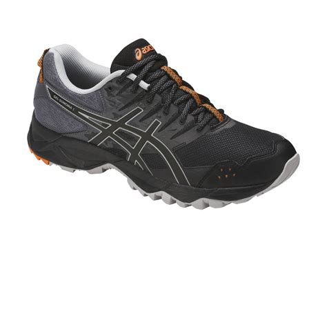 Asics Gel Sonoma 3 Original 3 asics gel sonoma 3 mens black trail running road sports shoes trainers ebay