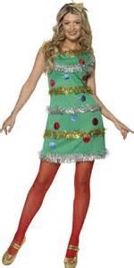 Adult christmas tree costume 36992 fancy dress ball