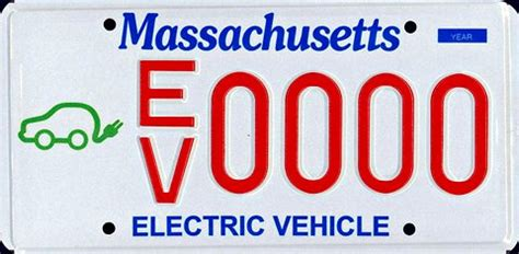 Mass Rmv Vanity Plate Availability by Massachusetts Sts A Catch All Plate For E V S