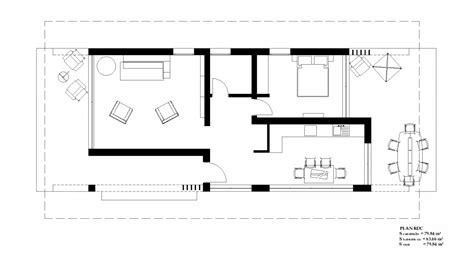 blueprint house plans house plan bc 5 80m2
