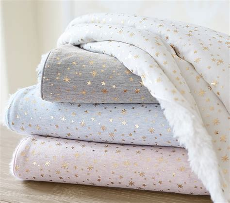 Blankets For Babies by Gold Sherpa Baby Blanket Pottery Barn