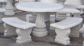 Concrete Patio Table And Benches Concrete Table With Benches Ideas Concrete Patio Garden Table Tile With 3 Benches