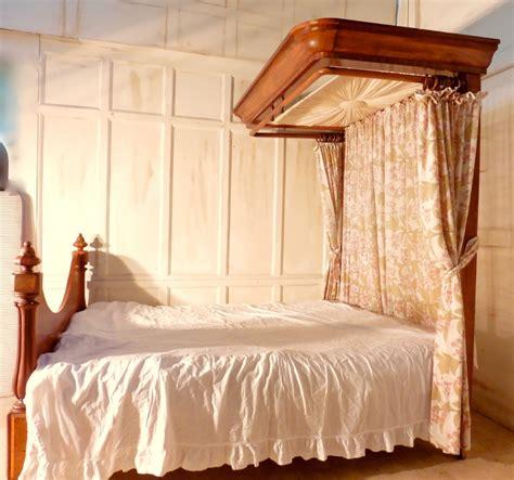 Bed Canopy Uk Mahogany Half Tester King Size Bed 397438 Sellingantiques Co Uk