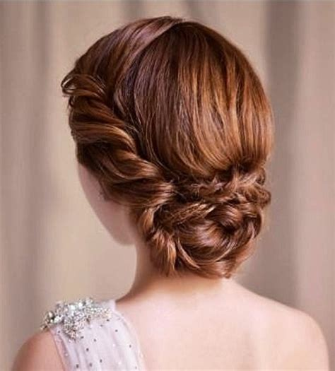 Wedding Updos Braided Bun by Fabulous Low Updo Hairstyles Pretty Designs
