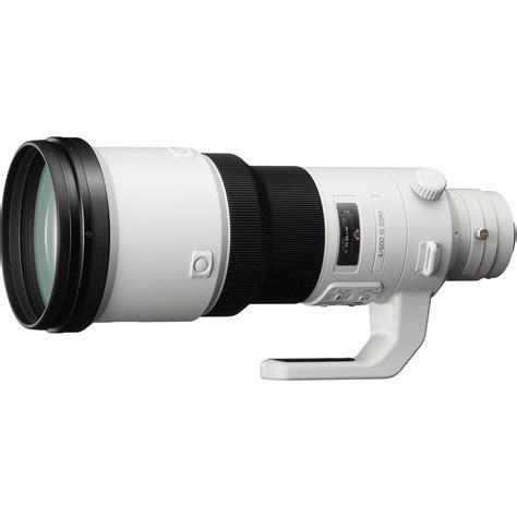sony lenses sony 500mm f 4 g ssm lens sal500f40g b h photo