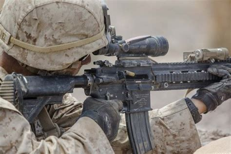 runs big world a marine s path to peace books marines experiment with m27 iar suppressor weaponsman