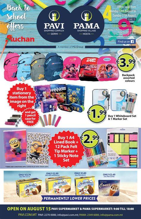 Backpack Consina Pama pavi pama flyer 14 08 17 27 08 17 by pavi pama supermarket issuu