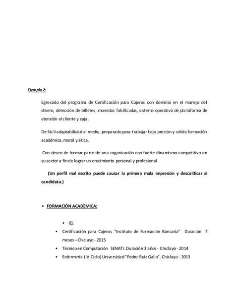Modelo Curriculum Vitae Actualizado Modelo De Curriculum Vitae Lima Peru Modelo De Curriculum Vitae