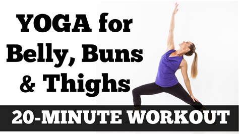 20 minute belly buns and thighs workout length at home exercise