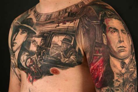 tattoo chest gangster 50 fantastic gangsta tattoos