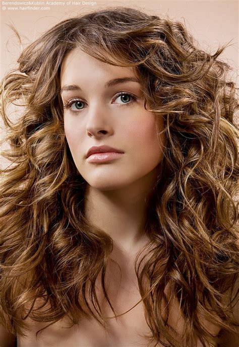 curly hairstyles for long hair with layers long layered haircuts for curly hair