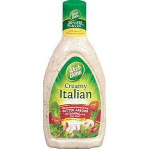 wish bone creamy italian salad dressing 16 fl oz