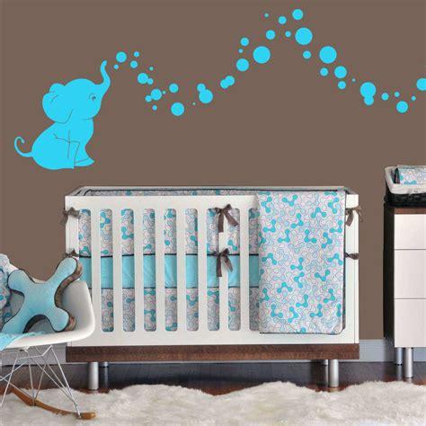 Nursery Decor Elephants Cutie Elephant Bubbles Wall Decal Vinyl Wall Nursery Room Decor Gift Ebay