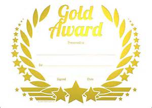 certificates a5 size generic a5 certificates gold