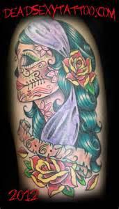 lucky monkey tattoo gypsy sugar skull
