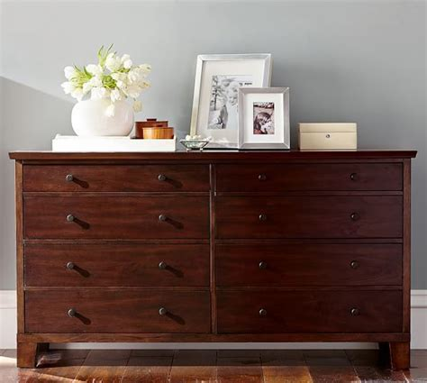 tall extra wide dresser valencia extra wide dresser pottery barn master