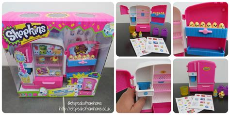 Shopkins Cool shopkins so cool fridge playset review et speaks from home