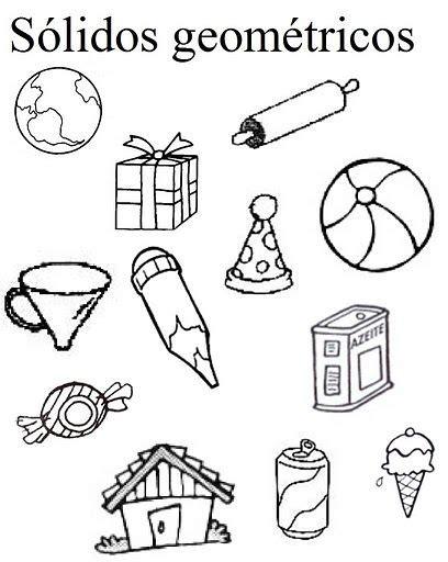 figuras geometricas solidas para niños resultado de imagem para atividades criativas de figuras