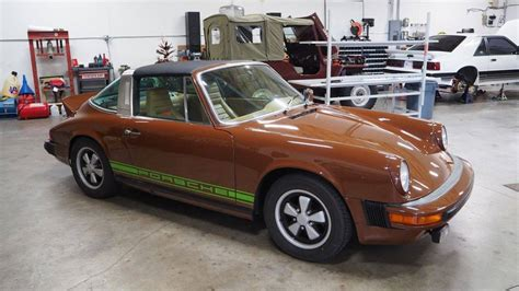 1977 porsche 911 s chocolate brown 1977 porsche 911s targa looks sweet