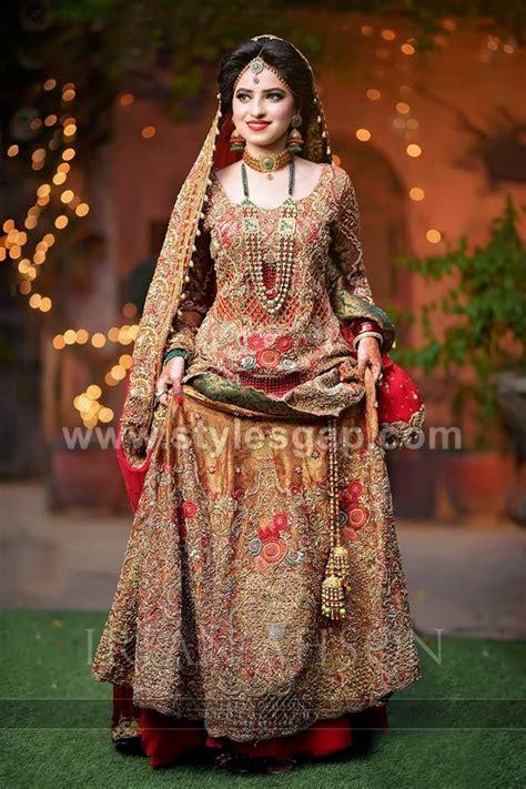bridal barat dresses designs collection    wedding brides