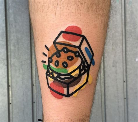 hamburger tattoo 10 best artists of 2016 editor s picks scene360
