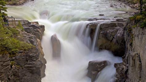 sunwapta falls sunwapta falls in jasper alberta expedia