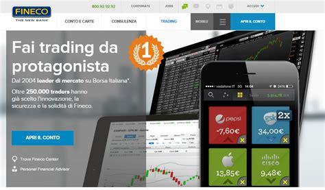 banca fineco opinioni trading fineco recensione opinioni costi guida per