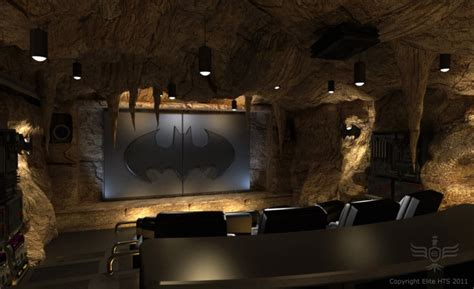 movie theater decor for the home batman pirates themed home movie theaters bit rebels