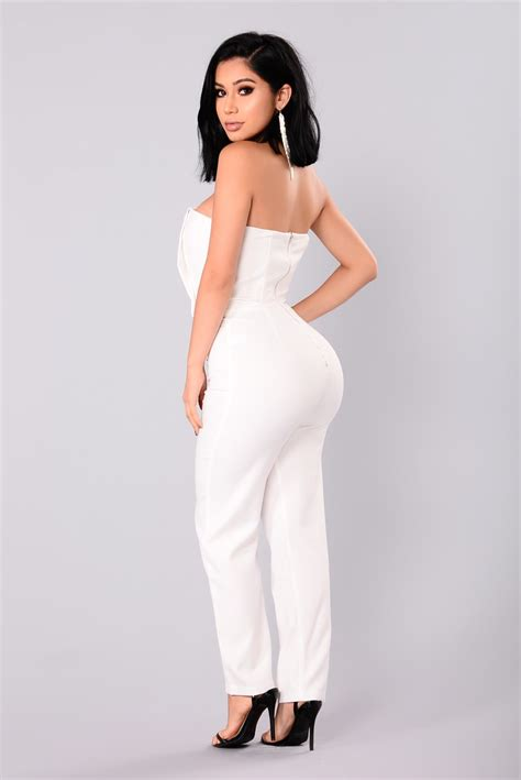 Jumpsuit By Miuss miss moody jumpsuit white