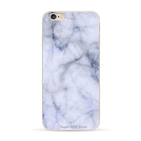 gray marble texture print clear soft tpu for iphone 6 6s 6 plus 5 5 quot ebay