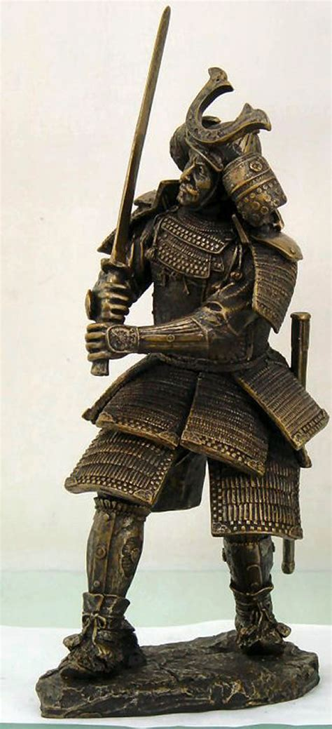 Sword Warrior Pvc Statue samurai standing with sword statue