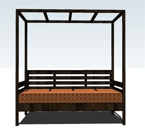 building a daybed outdoor daybed construction plans woodworking projects