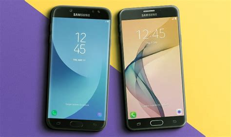 Samsung J7 Prime Vs J7 Pro Galaxy J7 Pro Vs Galaxy J7 Prime Qual Smartphone Da