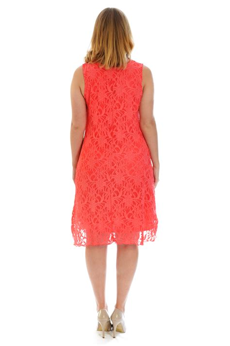 Ladie Dress new dress womens floral lace tunic flapper
