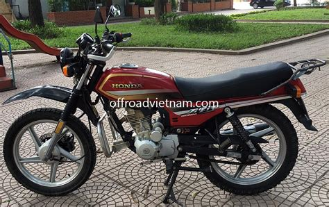 Engine Guard Cb Gl Megapro honda cgl125 125cc for rent in hanoi offroad adventures