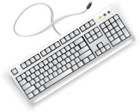 White computer keyboard vector free vector graphics all free web