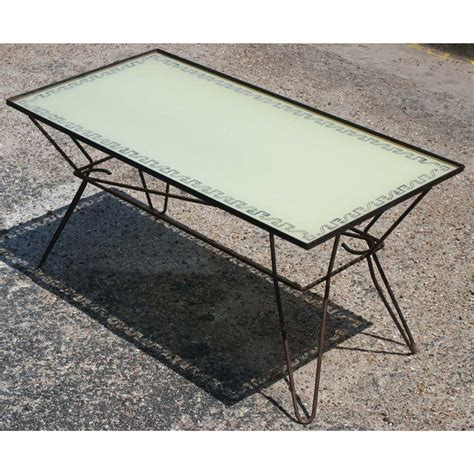 dorothy schindele syle metal outdoor cocktail table ebay