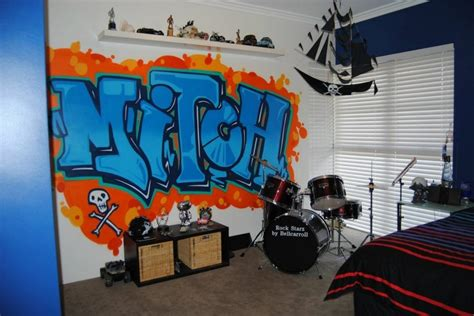 graffiti bedroom accessories graffiti teenage boys room interior design diva homes