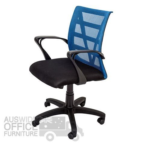 Shoo Vienna Blue rapidline vienna mesh chair office furniture auswide