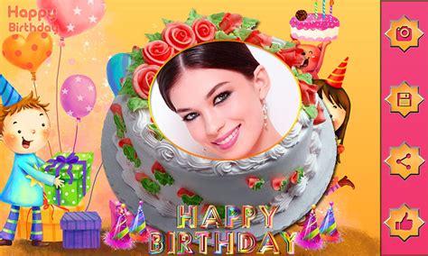 Kue Cinta nama foto di ulang tahun kue cinta bingkai editor for