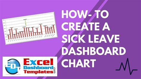 how to leave a how to create a sick leave excel dashboard chart