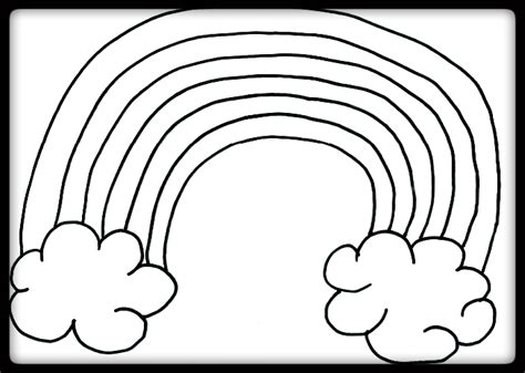coloring pages of the rainbow free coloring pages of colors of the rainbow