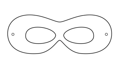 printable mask template free superhero mask template printables clipart best