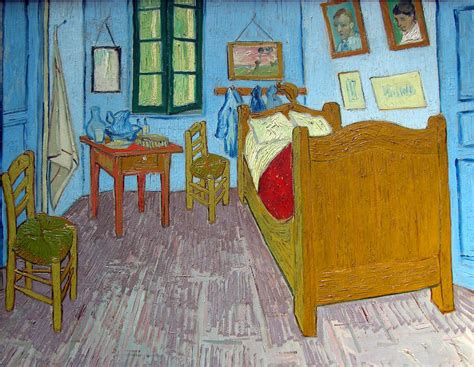 musee d orsay vincent gogh 1889 bedroom in arles 1