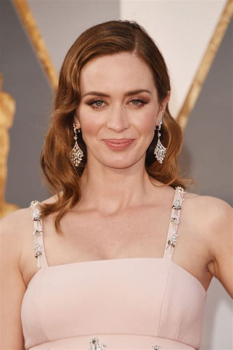 best actress emily blunt emily blunt oscars 2016 in hollywood ca 2 28 2016